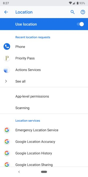 how to stop battery drain 5 location settings