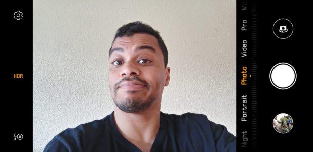 huawei mate 20 pro selfie screenshot