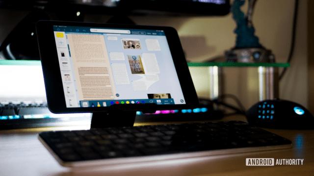 iPad Mini 5 Workflow Writing Working Online
