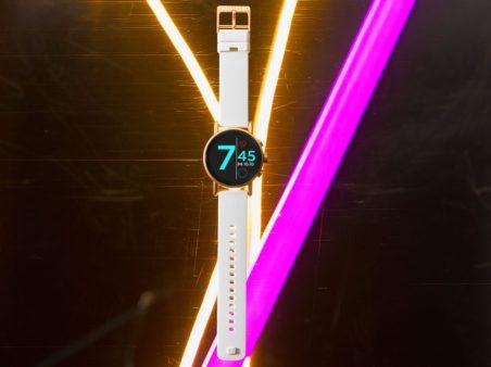 misfit vapor x smartwatch wear os white gold