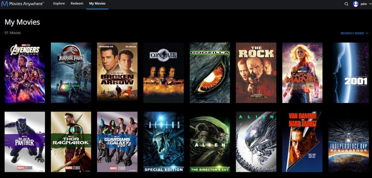 movies everywhere screenshot 1