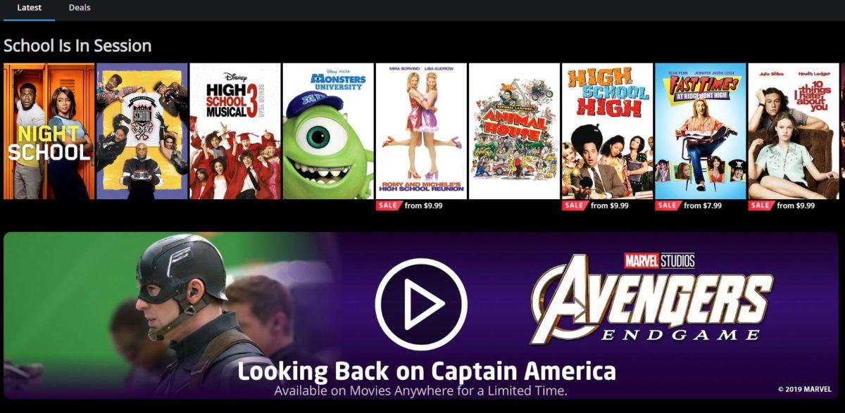 movies everywhere screenshot 2