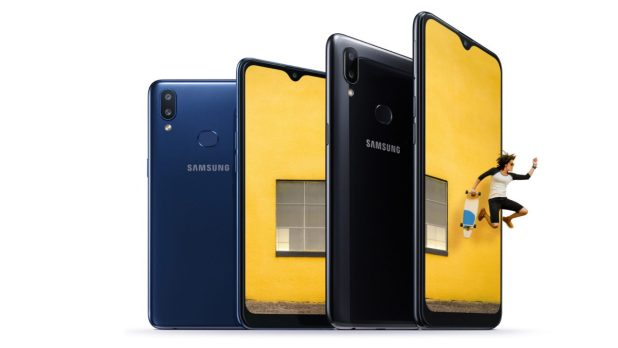 The Samsung Galaxy A10s.
