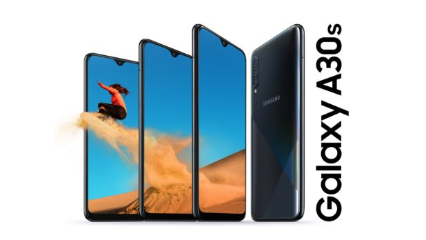 The Samsung Galaxy A30s.