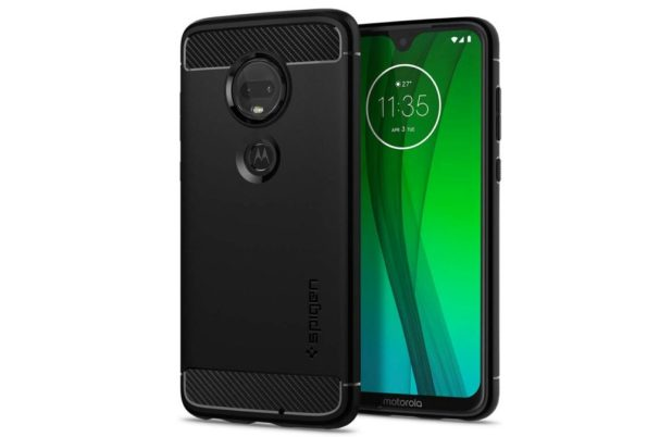 spigen rugged armor moto g7 case