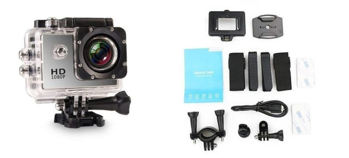 All Pro HD Action Cam and Accessories