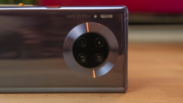 Huawei Mate 30 Pro Macro корпус задней камеры