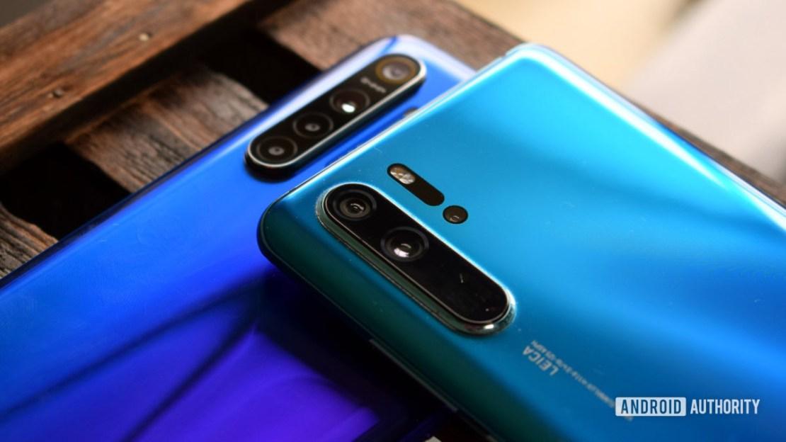 Huawei P30 Pro vs Realme XT camera