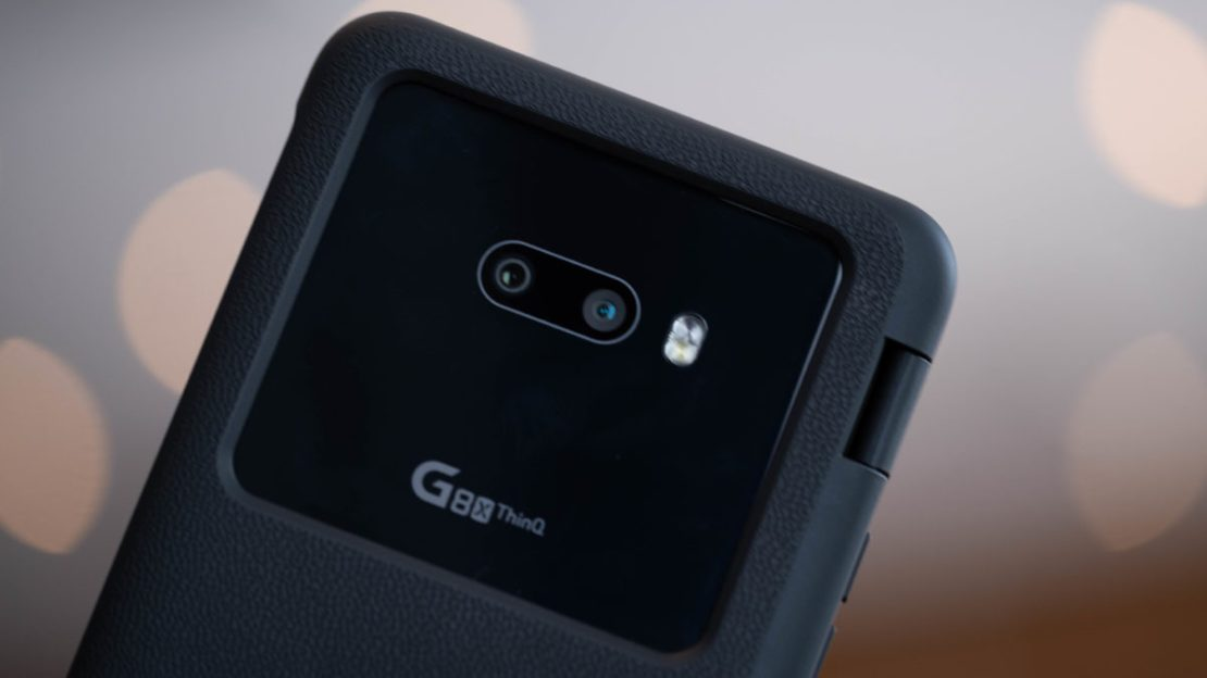LG G8X ThinQ back cameras 1