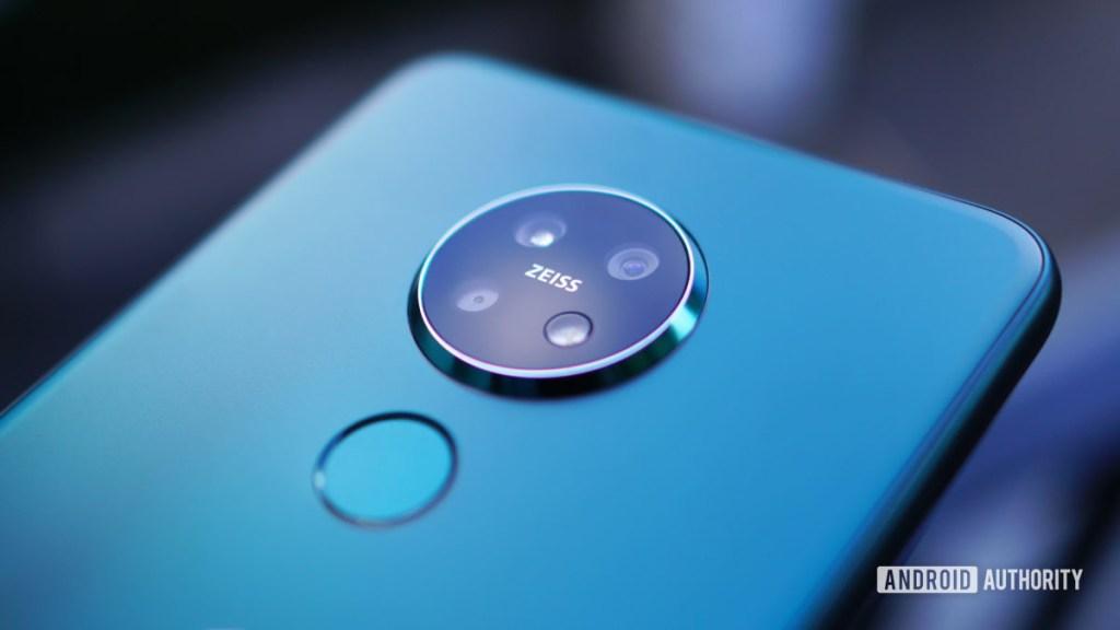 Камера Nokia 7.2 Zeiss крупным планом