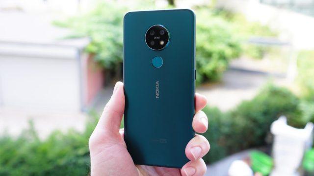 Nokia 7.2 back panel