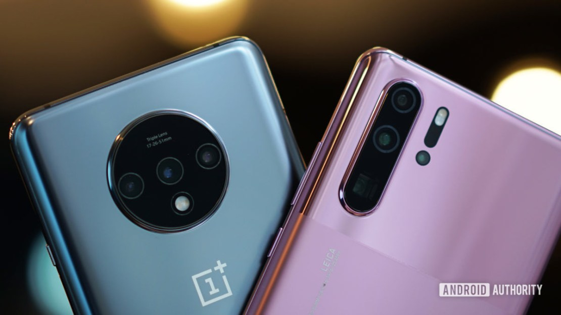 OnePlus 7T vs Huawei P30 Pro