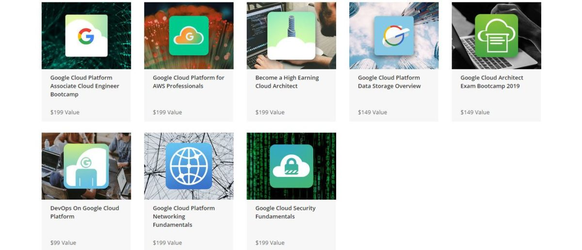 The Complete Google Cloud Mastery Bundle Courses