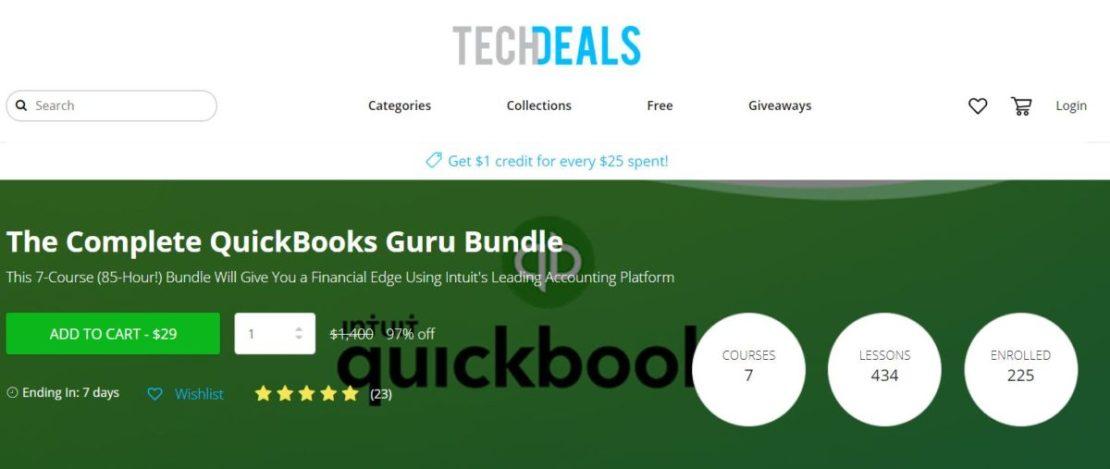 The Complete QuickBooks Guru Bundle Header