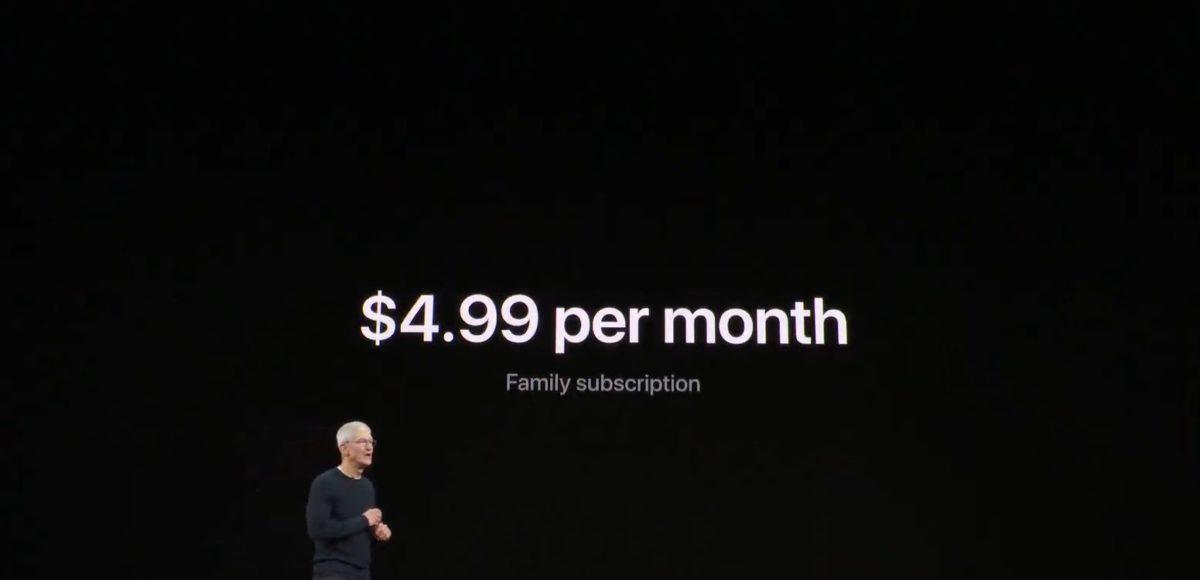 яблоко тв плюс цена