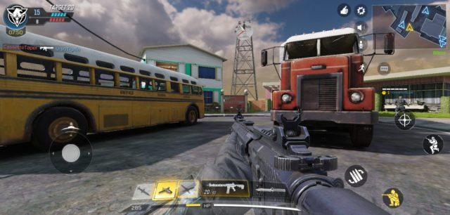 A Call of Duty: Mobile screenshot.
