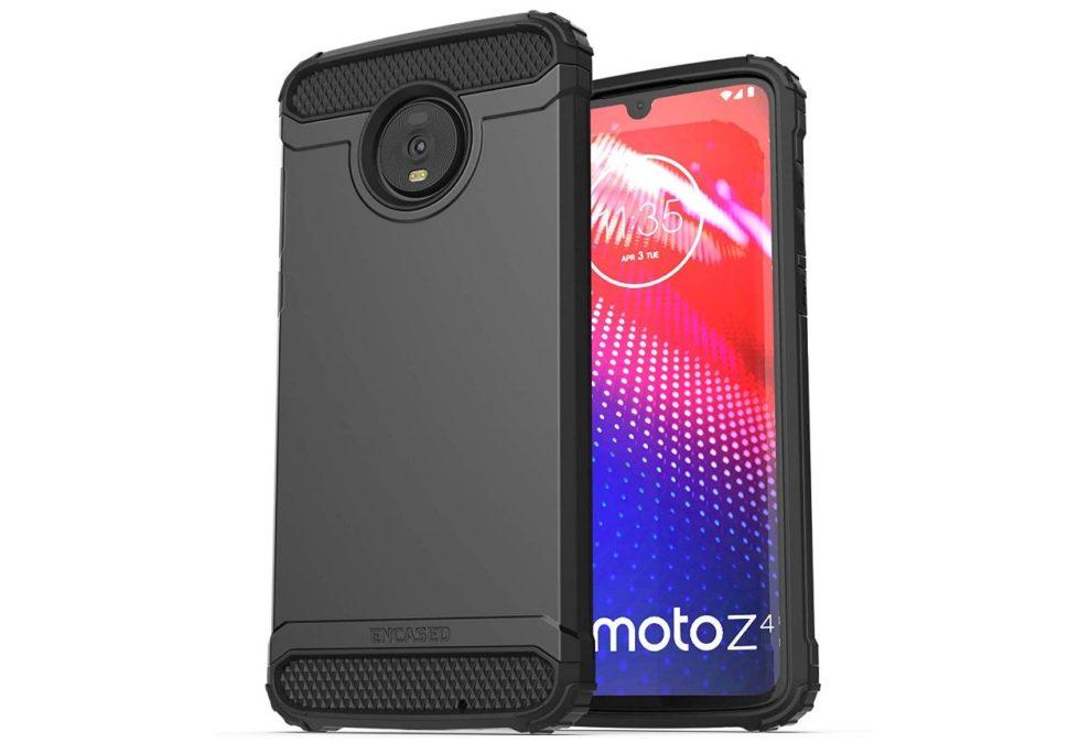encased moto z4 case
