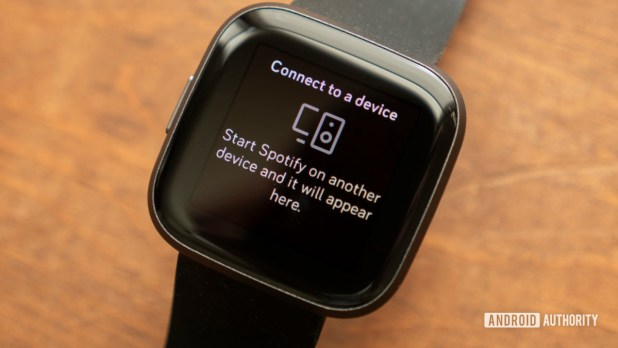 fitbit versa 2 review spotify app connect to a device