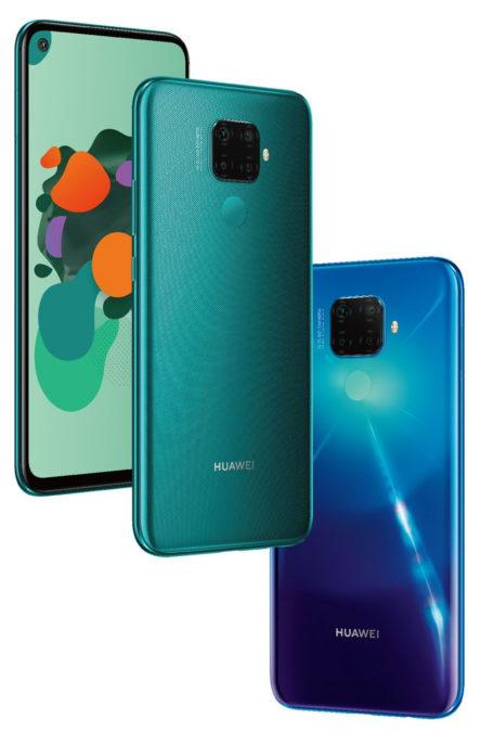 The Huawei Mate 30 Lite.