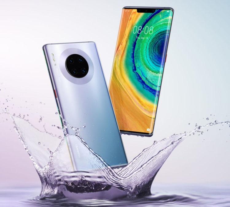 The Huawei Mate 30 Pro via Evan Blass.