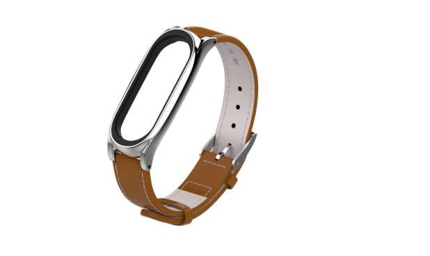 mijobs leather strap mi band 4