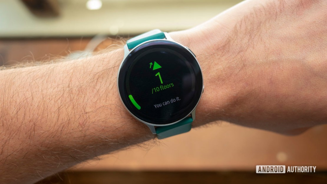 samsung galaxy watch active 2 review floors climbed