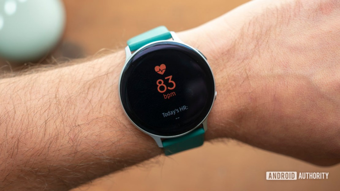 samsung galaxy watch active 2 review heart rate