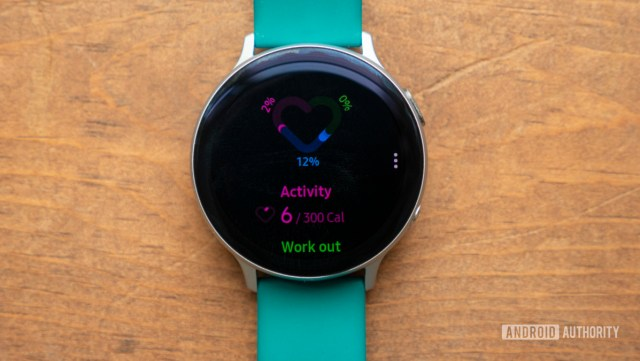 samsung galaxy watch active 2 review samsung health widget