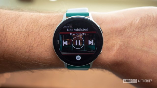 samsung galaxy watch active 2 review spotify app