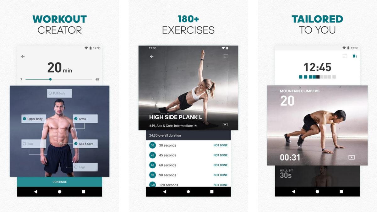 Adidas Training by Runtastic screenshot 2020