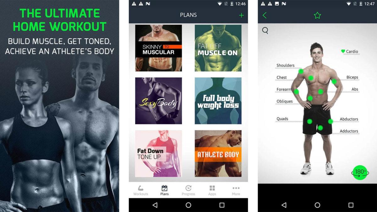 Скриншот Fitness22 для лучших тренеров приложений для Android