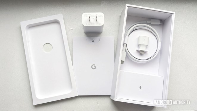 Google Pixel 4 whats in the box