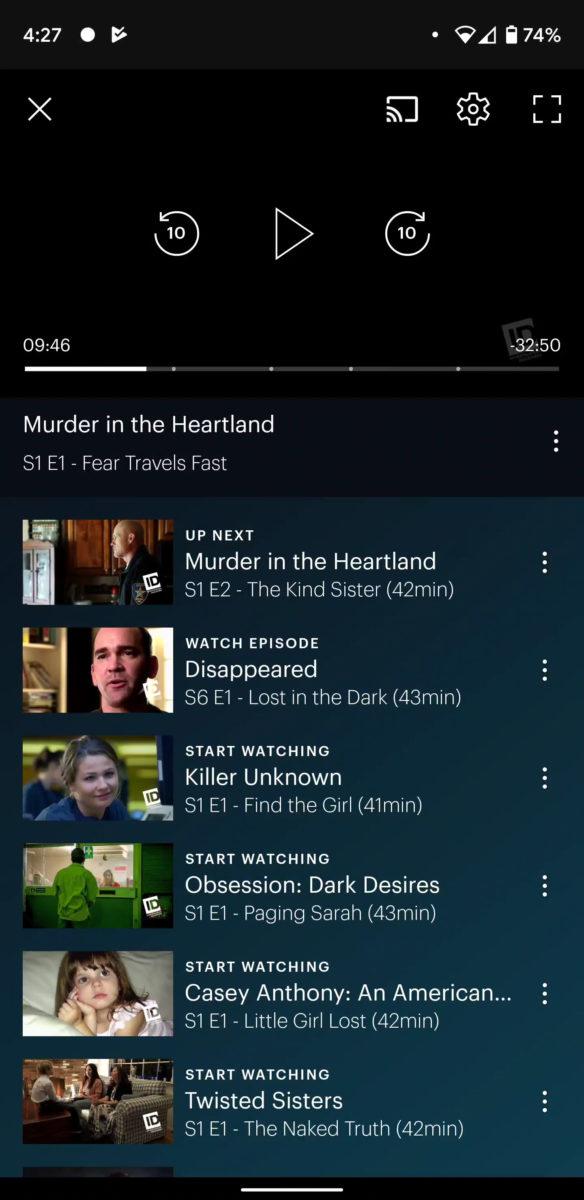 Как изменить субтитры и язык в Hulu 1