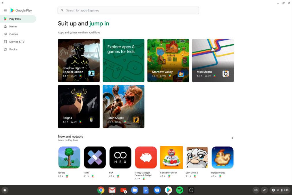 Как загрузить приложения Photoshop из Google Play Store на Chromebook 1