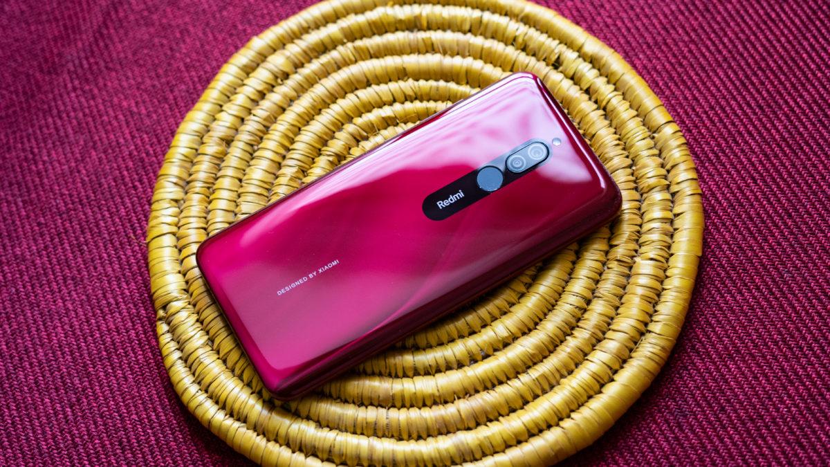 Redmi 8 profile photo of back