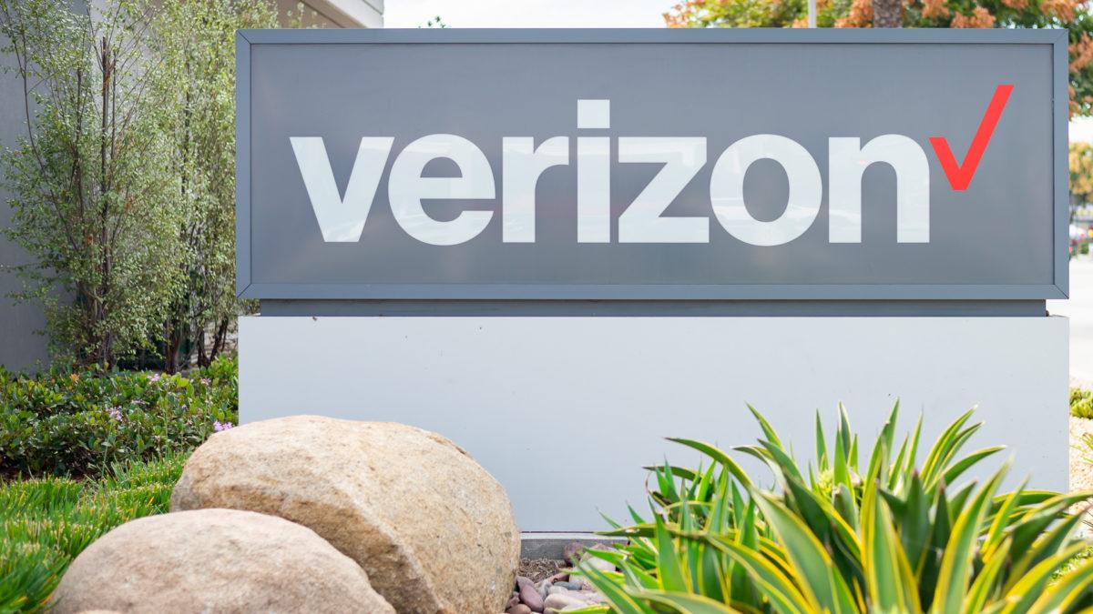 Verizon Wireless логотип изображение 3