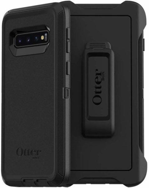 Samsung galaxy s10 için otterbox defender sağlam koruma
