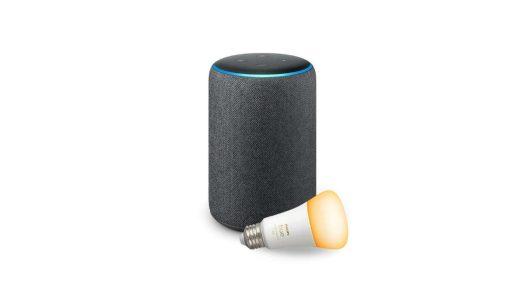 Amazon Echo Plus press render