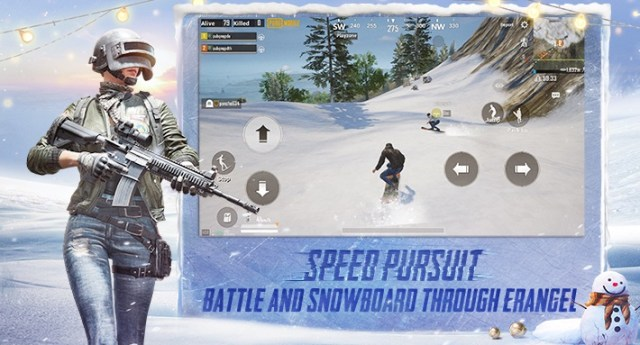 PUBG Mobile update snow paradise
