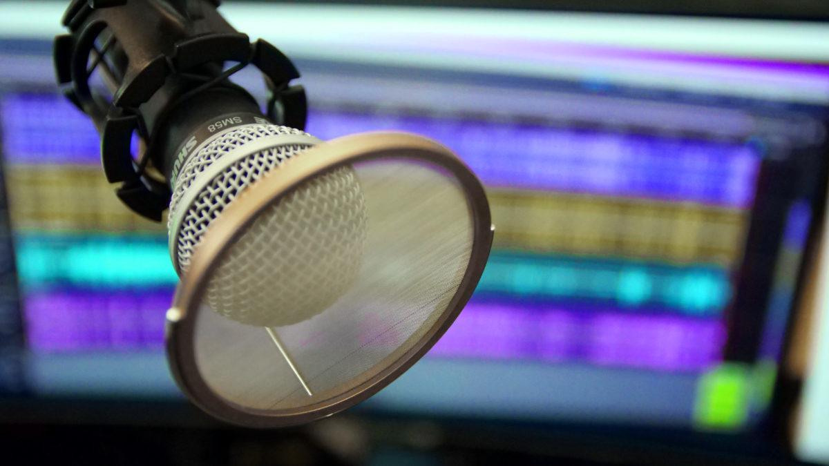 Микрофон Shure SM58 для подкаста