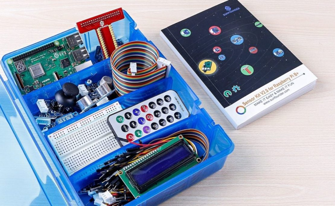Sunfounder Raspberry Pi 3B Plus Starter Kit