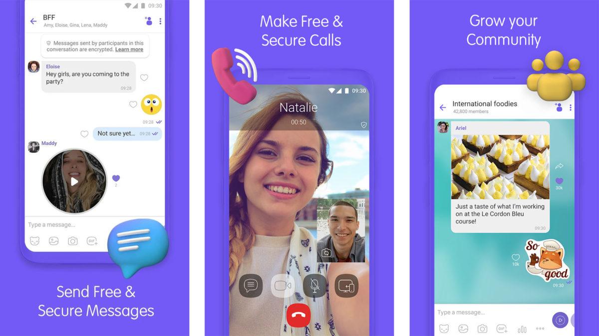 Скриншот Viber 2020 2