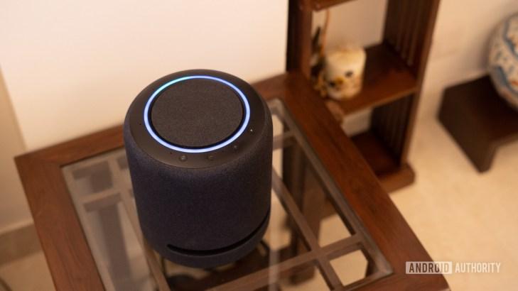 Echo Studio volume and alexa controls