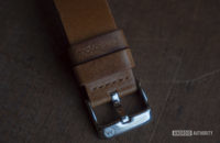 Moto 360 2019 review logo strap buckle