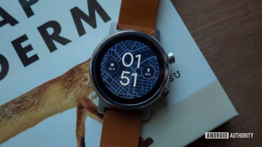 Moto 360 2019 review on book watch face 6