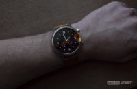 Moto 360 2019 review on wrist watch face 2