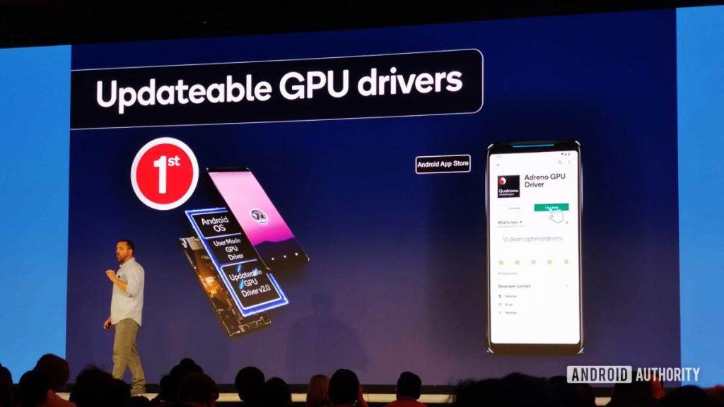Обновляемые драйверы графических процессоров Qualcomm Snapdragon 865