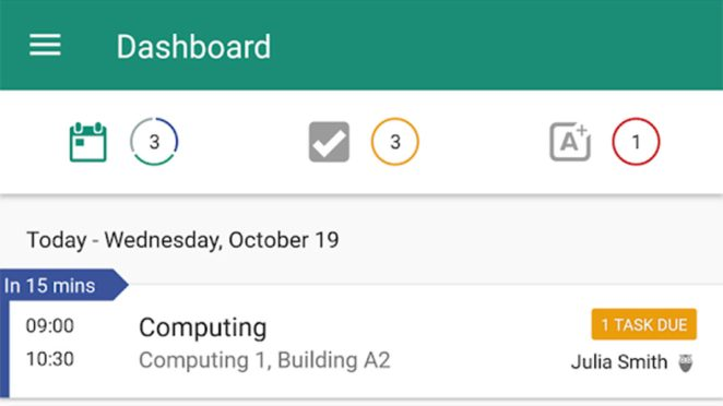 My Study Life best planner apps for Android