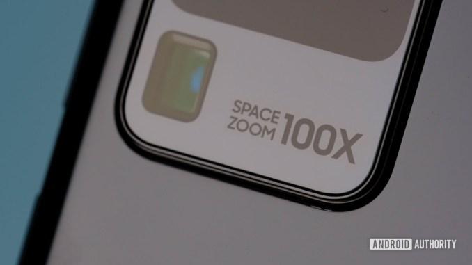 Samsung Galaxy S20 Ultra space zoom 1