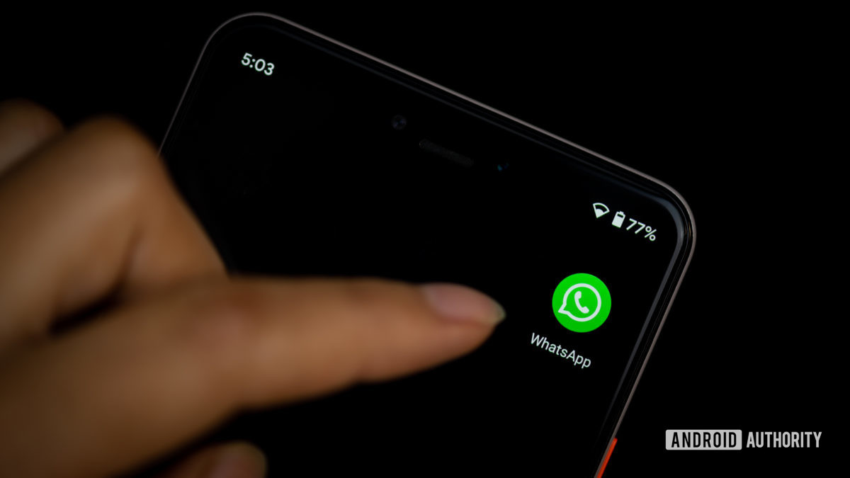 WhatsApp by Facebook stock photo 9